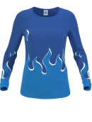 Maillots manches longues RL5w Pro femmes Fire
