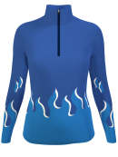 Maillots manches longues hiver RLW5w Pro femmes Fire